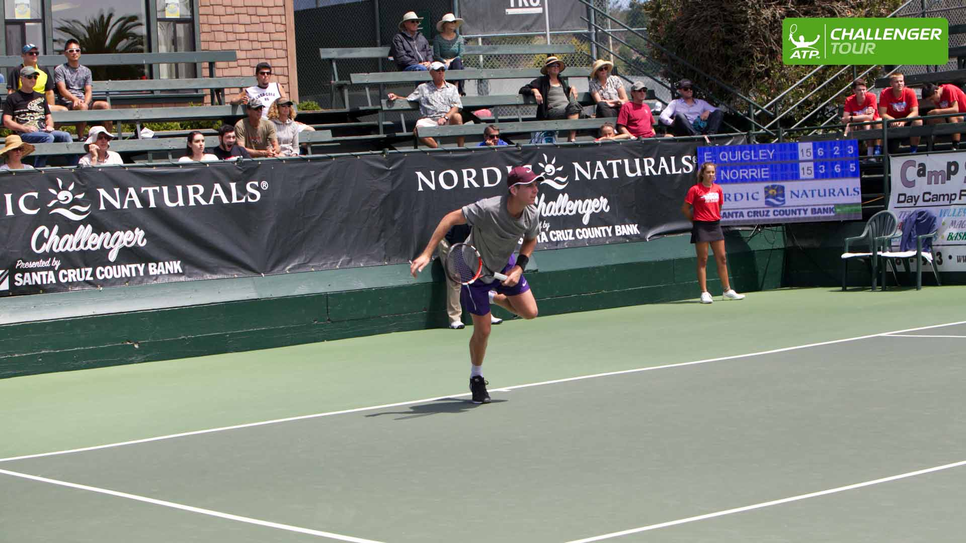 Cameron Norrie enjoys a breakthrough week at the ATP Challenger Tour event in Aptos.