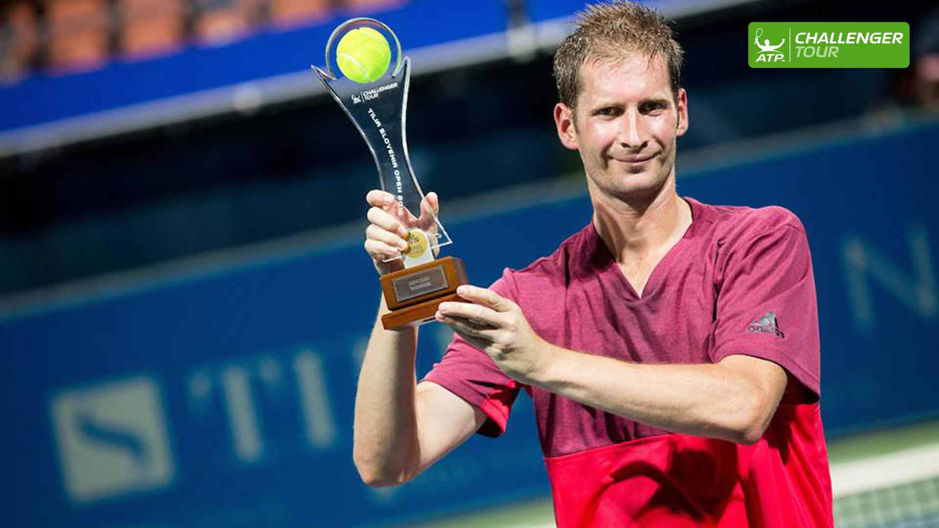 Florian Mayer prevails at the ATP Challenger Tour event in Portoroz.