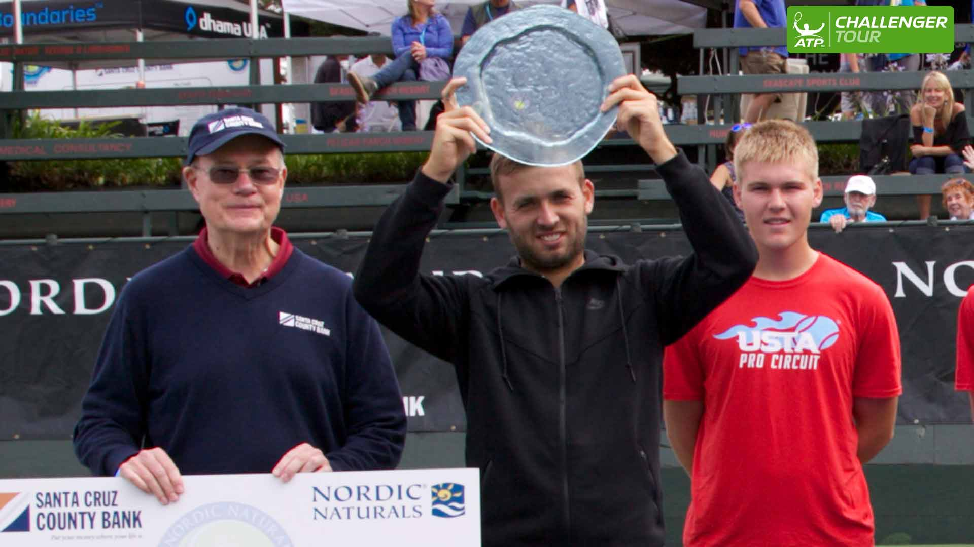 Daniel Evans takes another ATP Challenger Tour title in Aptos