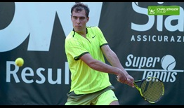 Jerzy Janowicz continues his comeback from injury at the ATP Challenger Tour event in Genova.