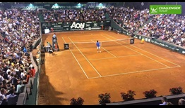 Packed crowds came out to support the ATP Challenger Tour event in Genova.