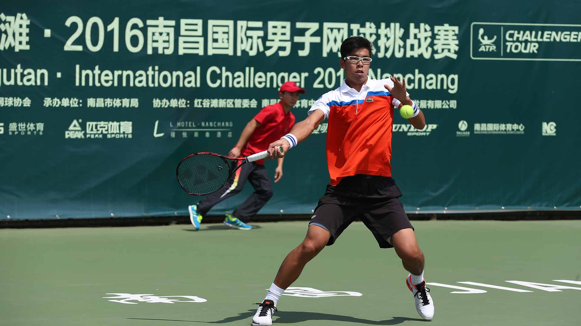 Hyeon Chung returns to the ATP Challenger Tour in Nanchang.