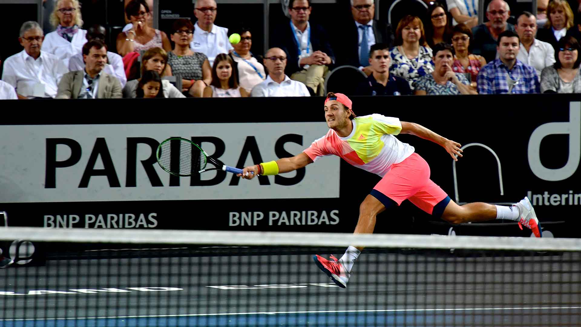 Lucas Pouille wins his maiden title in Metz.