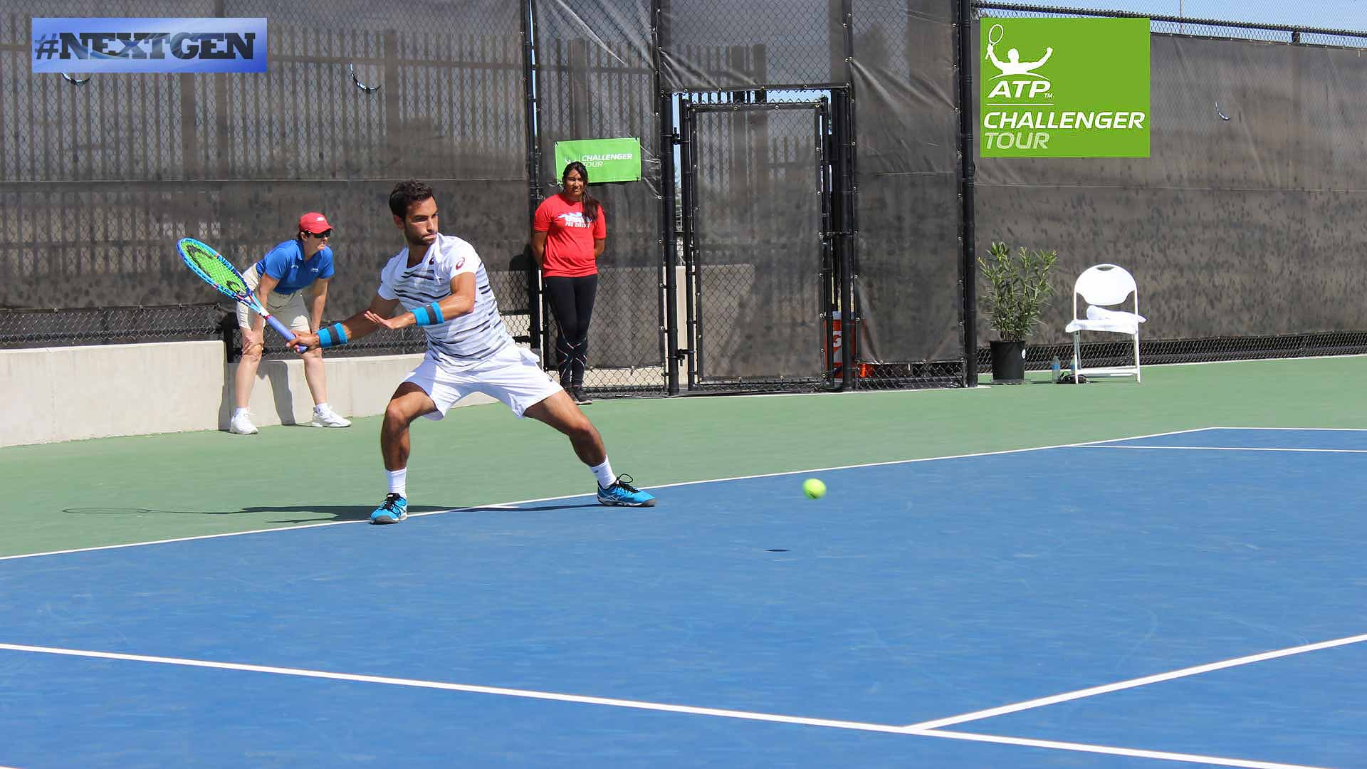 NextGen star Noah Rubin is healthy and playing top tennis at the ATP Challenger Tour event in Stockton.