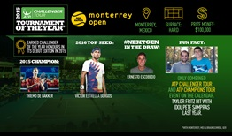 The Monterrey Open is once again proving why it was named a Challenger Tournament of the Year.