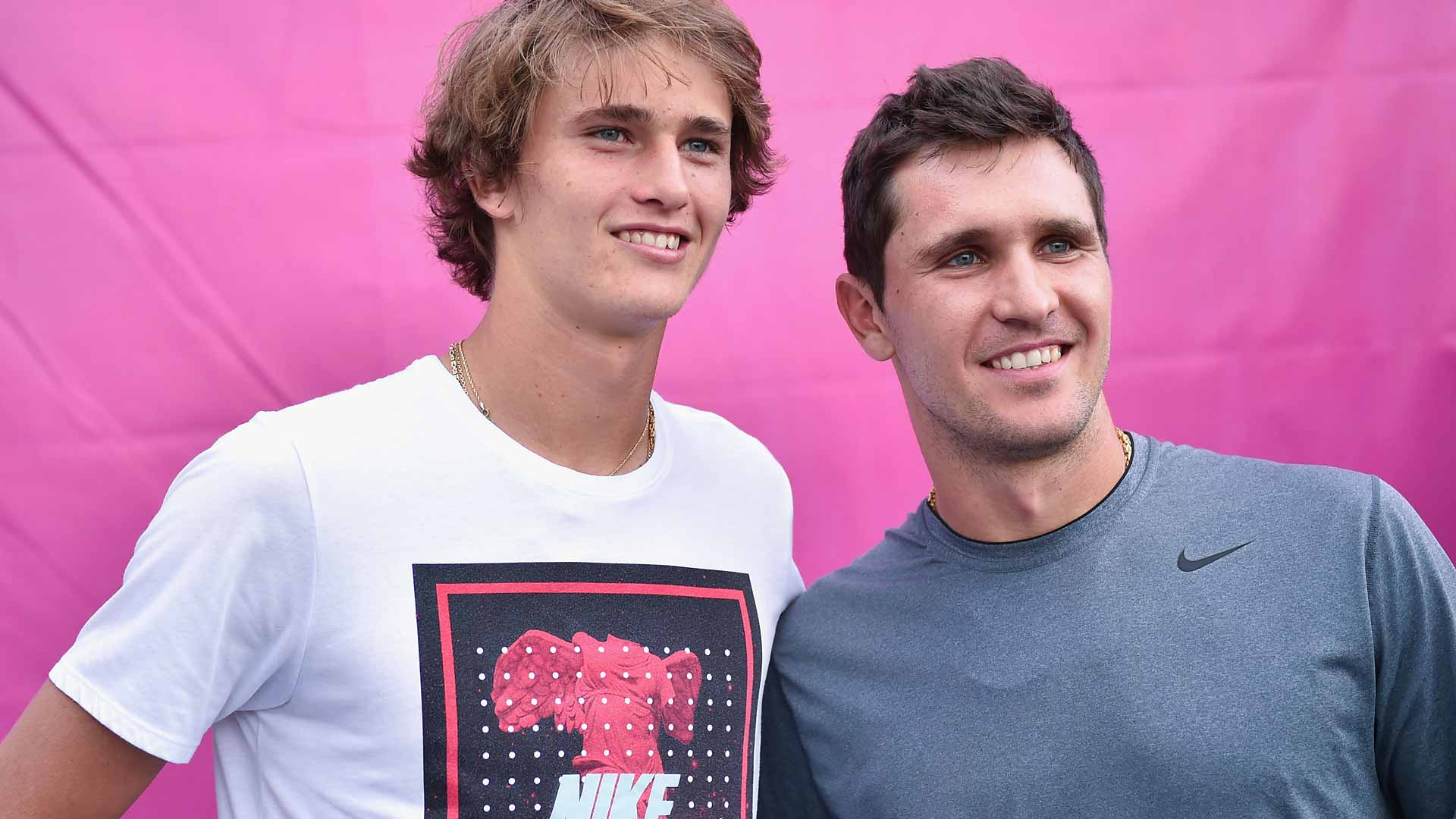 The Zverev family unit is a strong one. They all travel together – Dad, ...
