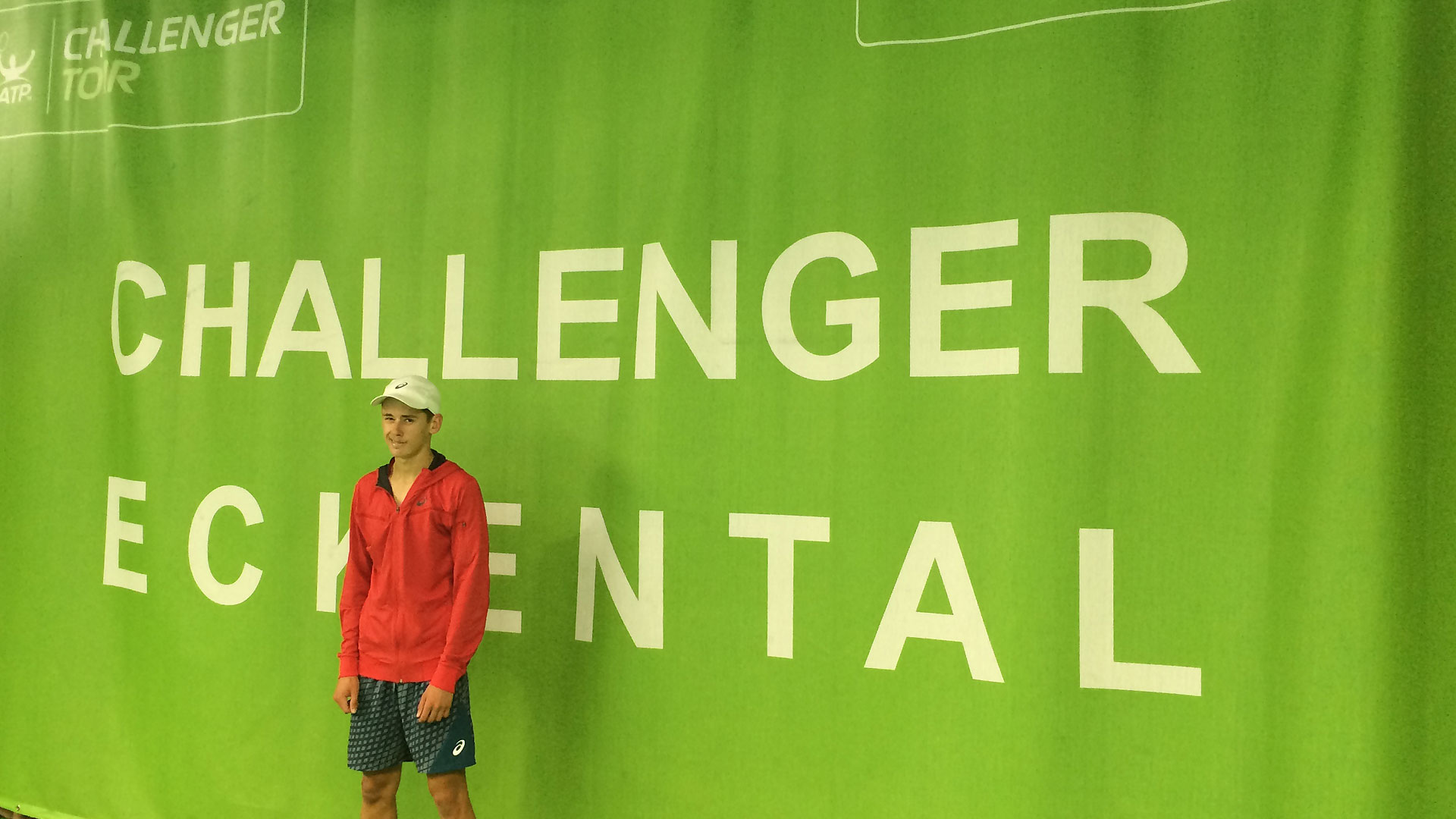 Alex De Minaur is enjoying a breakthrough week at the ATP Challenger Tour event in Eckental.