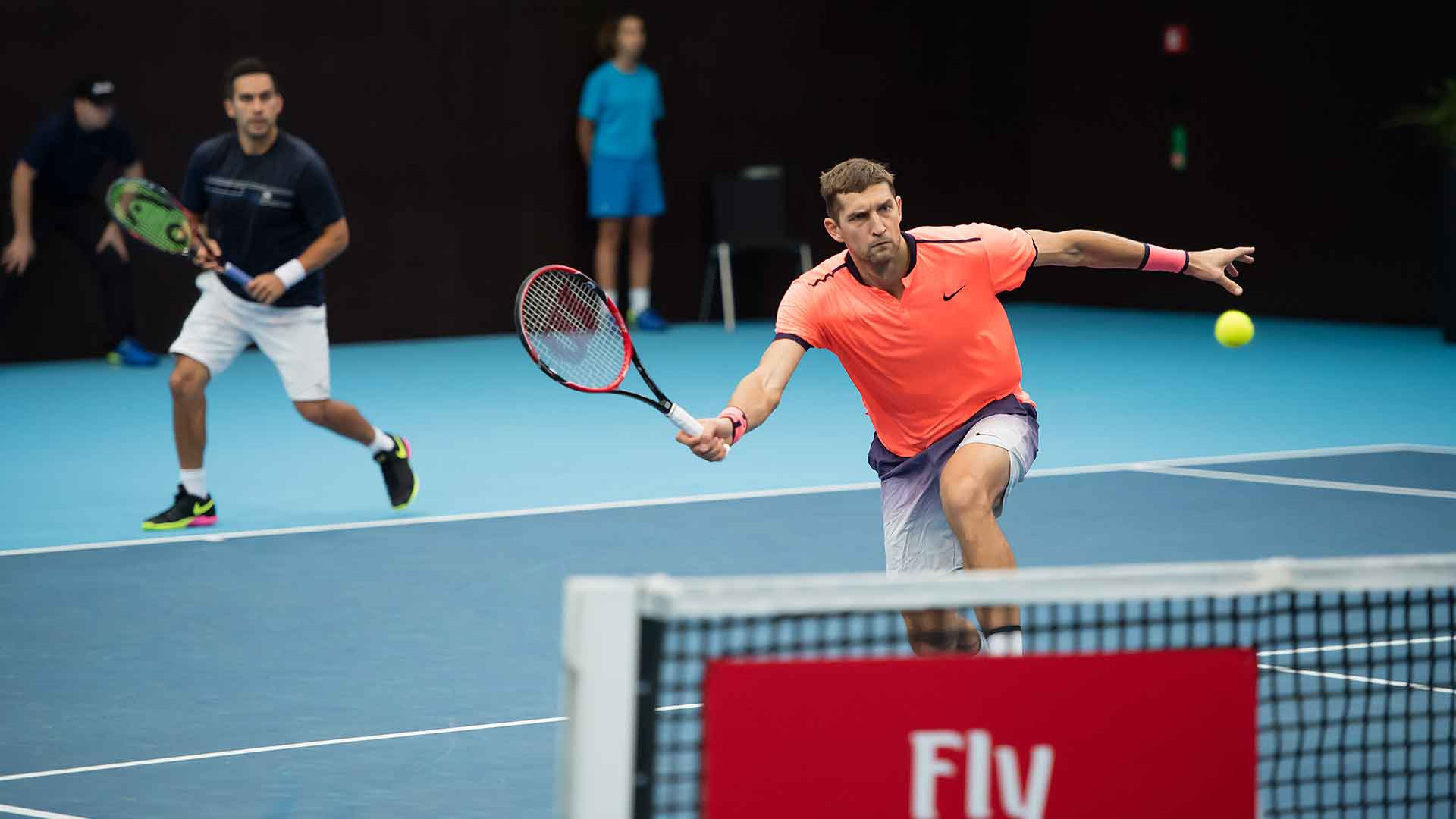 Treat Huey and Max Mirnyi look to make some noise at the Barclays ATP World Tour Finals.