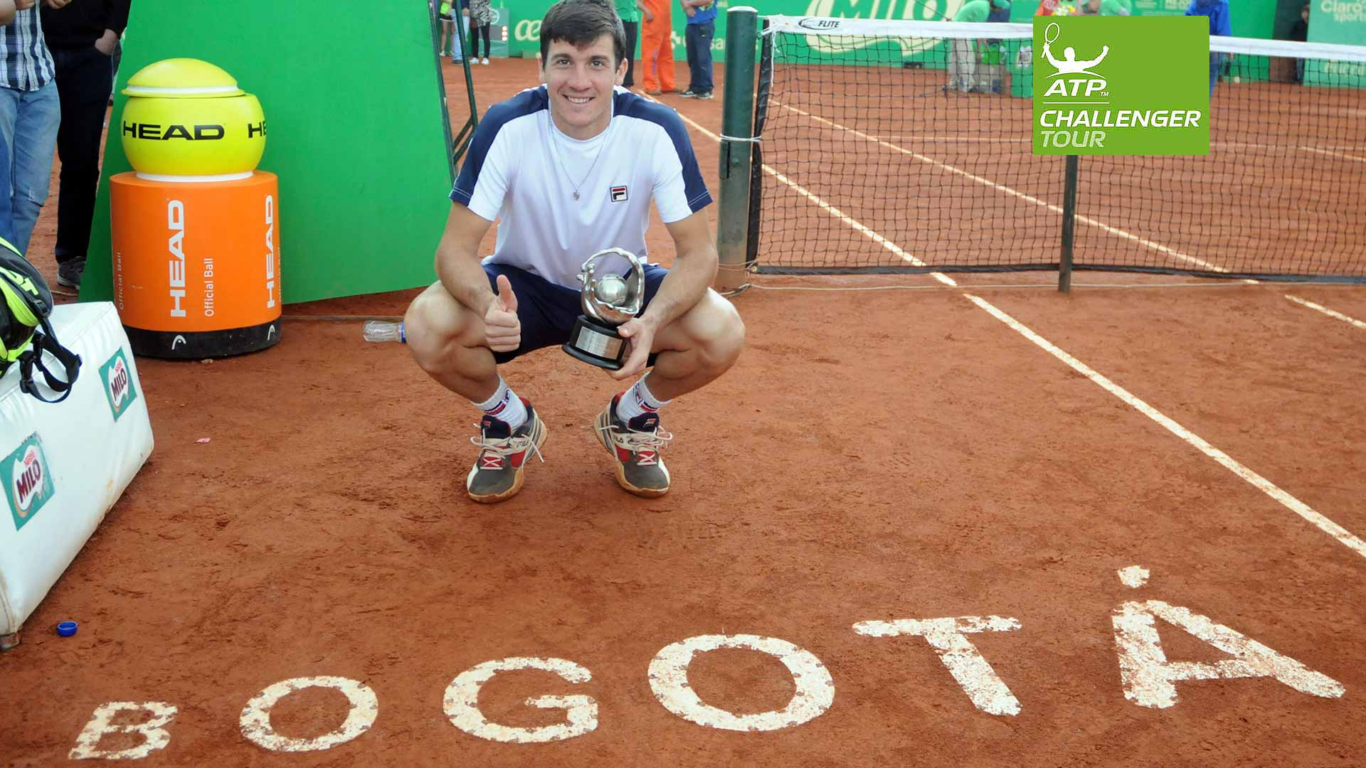 Facundo Bagnis wraps up his outstanding ATP Challenger Tour season in Bogota.