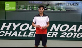 #NextGen star Hyeon Chung wins his second ATP Challenger Tour title of 2016 in Kobe.