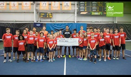 Michael Mmoh claims his maiden ATP Challenger Tour title in Knoxville.