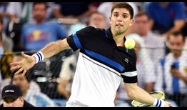 Watched by footballer Diego Maradona, Federico Delbonis fought valliantly in a five-set clash against Marin Cilic on Friday in the Davis Cup final.