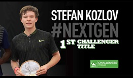 Stefan Kozlov won his maiden ATP Challenger Tour title in Columbus.