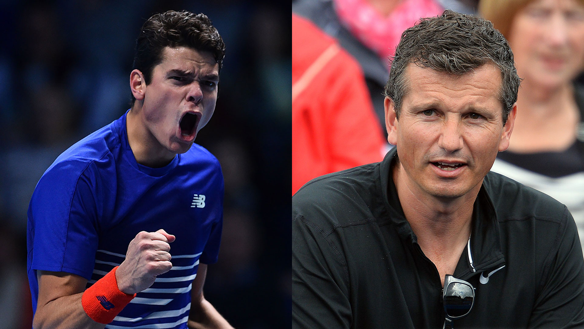 Milos Raonic will work with Richard Krajicek in 2017.