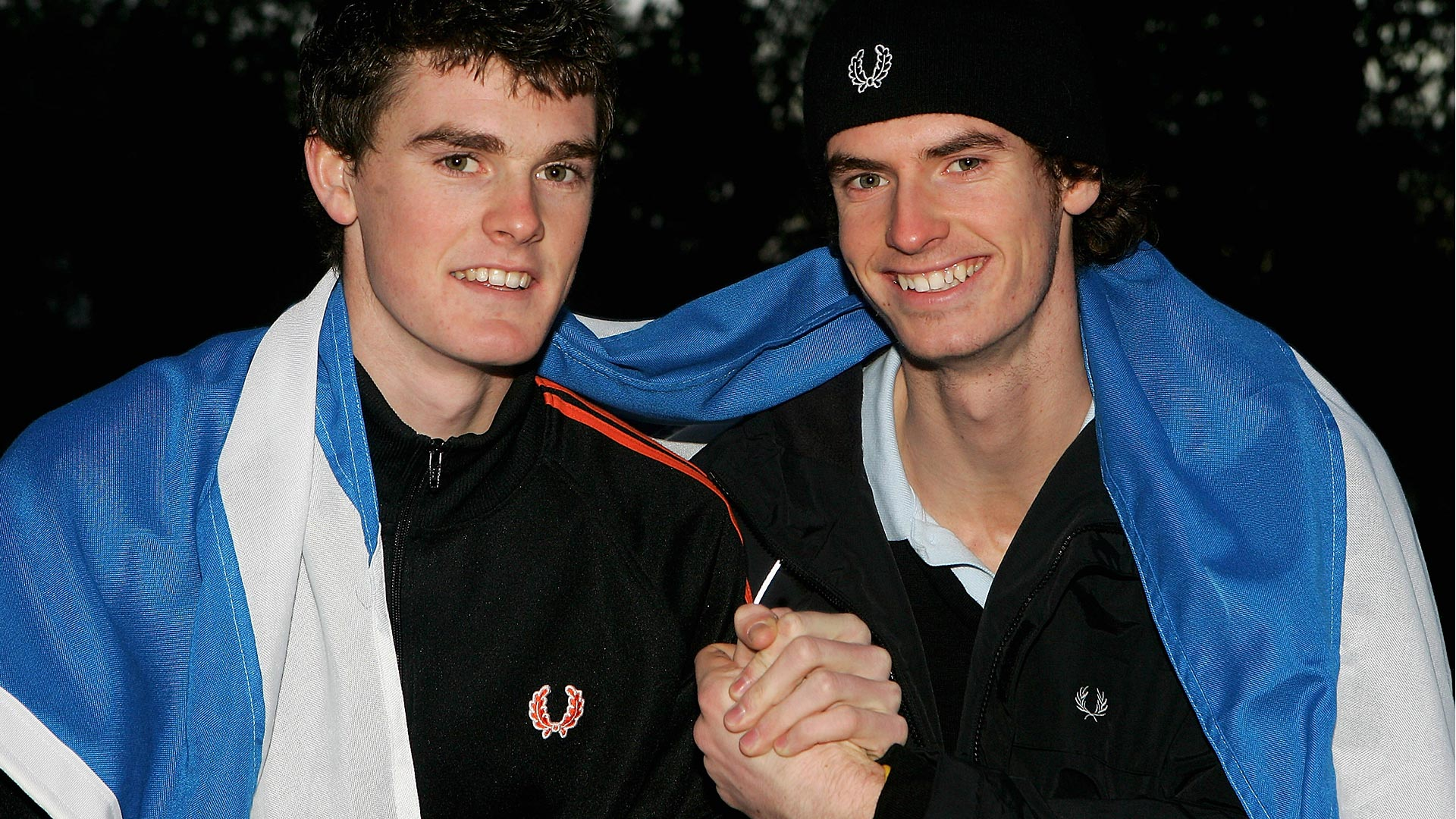 Andy Murray y Jamie Murray