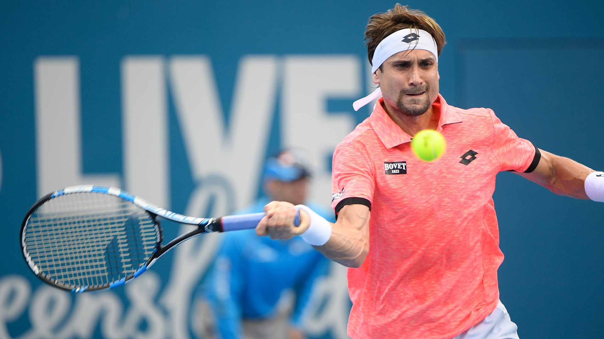 David Ferrer enjoys a successful start to 2017 in Brisbane.