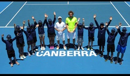 Dudi Sela claims his 21st ATP Challenger Tour title in Canberra, Australia.
