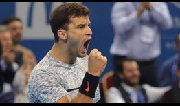 Grigor Dimitrov fights back against Jerzy Janowicz to reach the quarter-finals of the Garanti Koza Sofia Open.