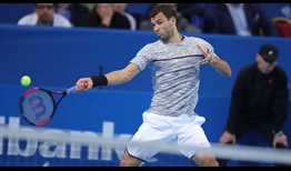 Grigor Dimitrov surges into the semi-finals in front of his home crowd in Sofia.