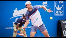Paolo Lorenzi has yet to drop a set in storming to the final of the Ecuador Open.