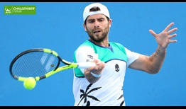 Simone Bolelli is turning heads in his singles comeback in Santiago.
