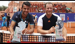 Mate Pavic and Dominic Inglot claim their first team title in Marrakesh.