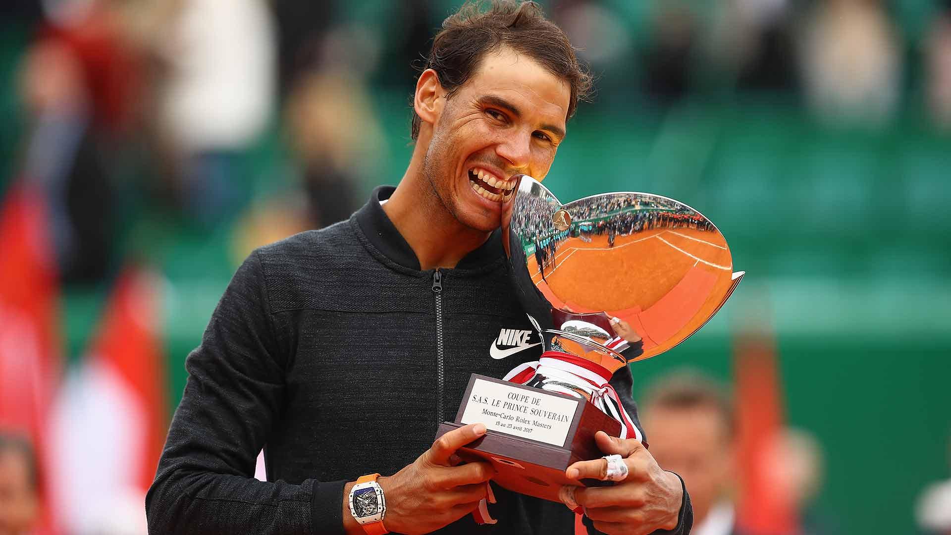 Nadal gana su décimo título en Montecarlo y se convierte en el jugador con más títulos de la historia en tierra superando a Vilas.