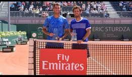Horia Tecau and Jean-Julien Rojer claim their second team title of the season in Geneva.