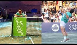 Victor Estrella Burgos claims his first ATP Challenger Tour title on home soil, in Santo Domingo.