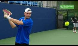 Austrian teen Jurij Rodionov grabbed the headlines at the ATP Challenger Tour event in Ningbo, China.