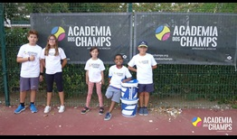 Academia Dos Champs has held over 10,000 tennis lessons since 2009 and the 2018 ATP Aces for Charity grant will fund over 1,100 more.