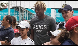 Third seed Gael Monfils bids for a second ATP World Tour title of 2018 at the Ecuador Open in Quito.