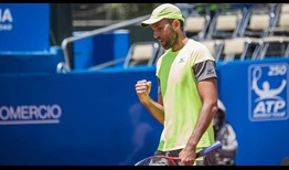 Ivo Karlovic advances to the second round of the Ecuador Open on Wednesday in Quito.
