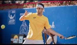 Albert Ramos-Vinolas remained unbroken in his semi-final match against Thiago Monteiro, winning 76% of his service points.