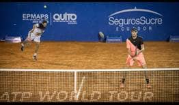 Nicolas Jarry and Hans Podlipnik-Castillo will reach career-high rankings in doubles following their victory in Quito.