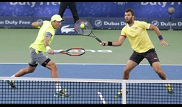 Tecau Rojer Dubai 2018 Saturday
