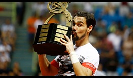Fabio Fognini earns his sixth ATP World Tour title with his victory in Sao Paulo, and his 14th match-win of the season, which is second on the ATP World Tour.