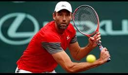 Croatian Ivo Karlovic, 39, becomes the oldest ATP World Tour semi-finalist since 1993 when Jimmy Connors did so in San Francisco.