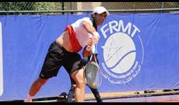 Pablo Andujar reaches the Grand Prix Hassan II semi-finals after beating Alexey Vatutin on Saturday.