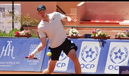 Kyle Edmund defeats Richard Gasquet to reach his first ATP World Tour final at the Grand Prix Hassan II on Saturday.