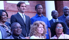 Roger Federer works with local partners in Zambia and elsewhere around the world to improve children's lives.