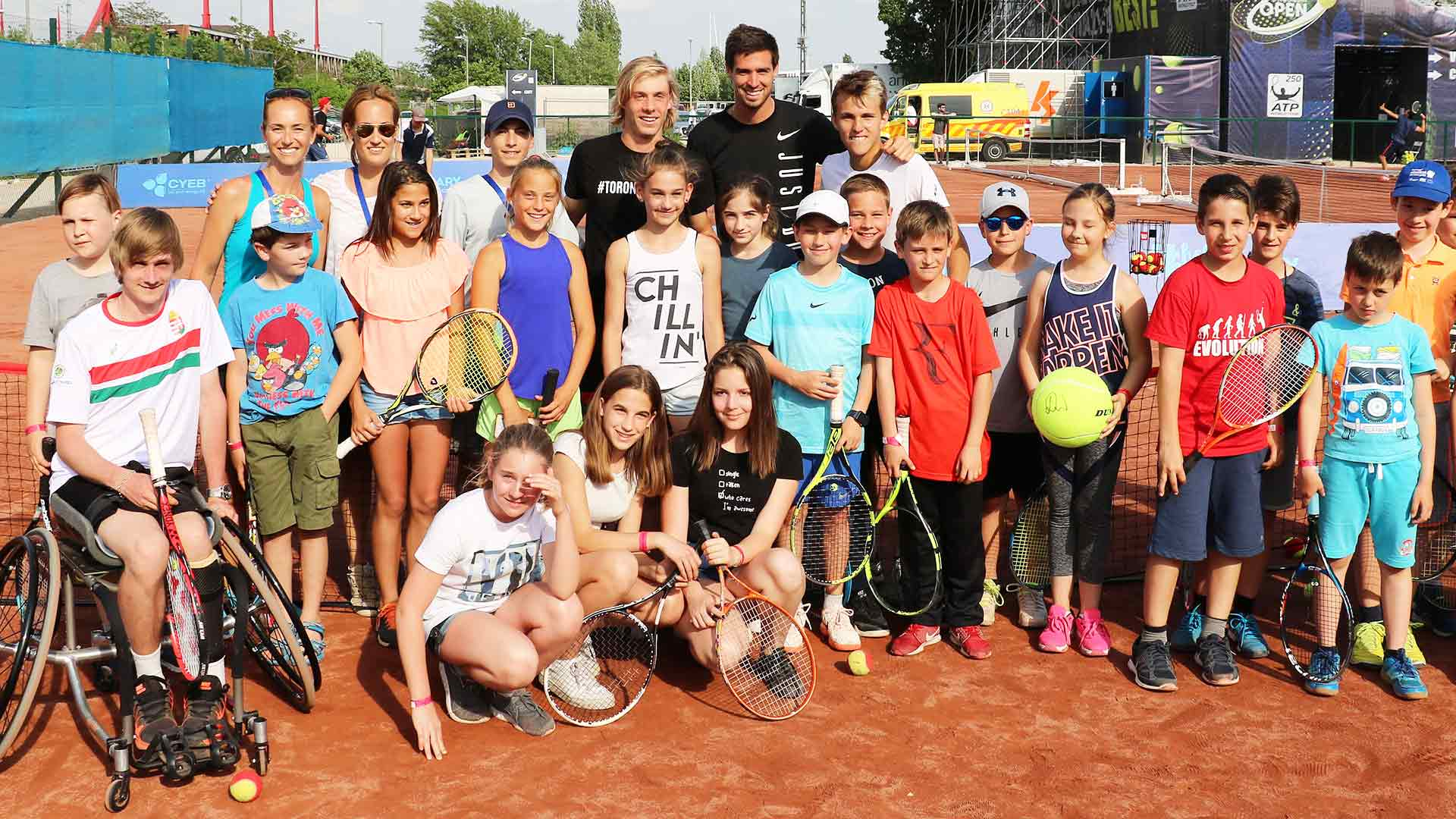 <a href='https://www.atptour.com/en/tournaments/budapest/7648/overview'>Gazprom Hungarian Open</a> Charity Day