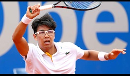 Hyeon Chung beats Matthias Bachinger in 58 minutes to advance to the BMW Open by FWU quarter-finals on Wednesday.