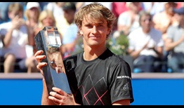 Alexander Zverev defeats three-time champion Philipp Kohlschreiber to win his second BMW Open by FWU title on Sunday.