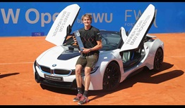 Alexander Zverev becomes just the third man to win consecutive BMW Open by FWU titles on Sunday.