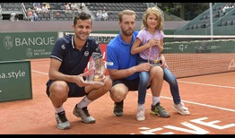 Mate Pavic and Oliver Marach lift their fifth team title on Saturday at the Banque Eric Sturdza Geneva Open.