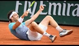 Cecchinato-Roland-Garros-2018-Sunday-Reaction