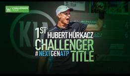 Hubert Hurkacz claims his first ATP Challenger Tour title on home soil in Poznan, Poland.