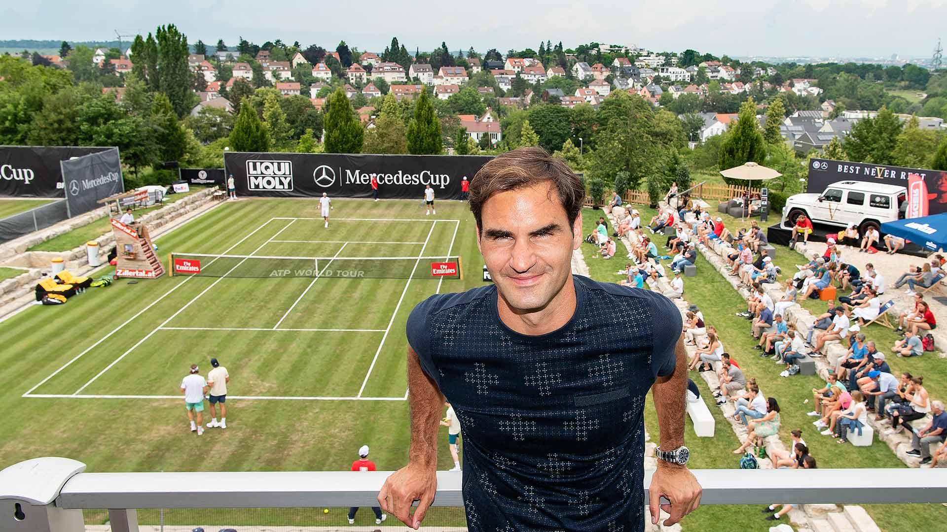 Stuttgart 2018 - ATP 250 - Page 6 Federer-stuttgart-2018-monday-1