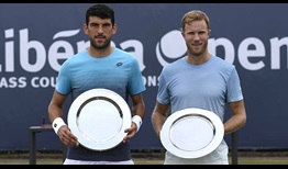 Franko Skugor and Dominic Inglot clinch their second team title, defeating Raven Klaasen and Michael Venus at the Libema Open on Saturday.